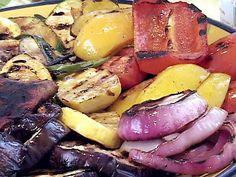Grilled Vegetables - Balsamic Grilled Vegetables Recipe