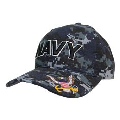 Rapid Dom US Military Branch Stack UP Flat Bill Baseball Caps S004