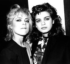 Gia Carangi and Sandy Linter at Studio 54 by giaeternal, via Flickr