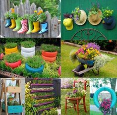 Cute gardening ideas