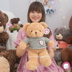 Teddy mặc áo len xanh nhí cute   Size 40cm  210k  0932793907  416/15/85A Dương Quảng Hàm P.5 Gò Vấp #gaubongdep #gauteddy #cute #hcm #Teddy