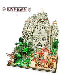 Enter into Erebor, the dwarf city from The Hobbit