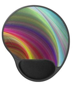 Vortex of colors gel mouse pad $14.35 *** Colorful concentric twisted curved stripes *** rainbow - vortex - spiral - swirl - curved - twisted - stripes - fractal - digital - spectrum - twirl - concentric - whirlpool - storm - bend - arc - arch - digital art - fantasy - imagination - dream - mousepad