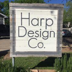Harp Design Co. in Waco, Texas. See more on twopeasandtheirpod.com
