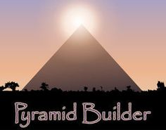 The Kids love this!  It can be frustrating to have to start all over again, but they learn a lot about the building of the pyramids.