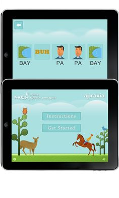 Speech Therapy for Apraxia iPad app.   Also available on Kindle, Nook, and Google Play.