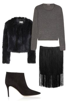 Spring 2014 Trends Style - Shop Spring 2014 Love that fur jacket. 2014 Fashion Trends, 2014 Trends, Spring Trends, Spring 2014, Summer 2014, Balenciaga Dress, High Waisted Flares, Calvin Klein Collection, Fashion Articles