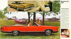 The 1970 Meteor Montcalm S33 was a sporty Canadian Mercury offering, similar to the XL series of the full size Ford.