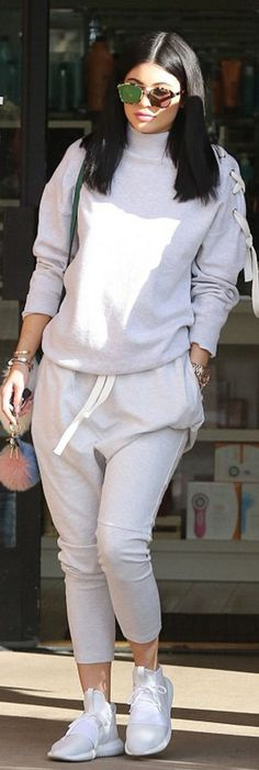 Kylie Jenner: Purse – Les Petits Bracelet – Cartier Key Chain – Fendi Sunglasses – Dior Shoes – Adidas