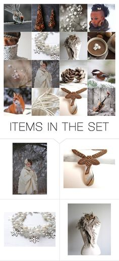 """""""Winter Is Coming"""" by neferknots ❤ liked on Polyvore featuring art"""