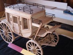 concord Stage Coach in progress - Page 3 - The Scale Model Horse Drawn Vehicle Forum