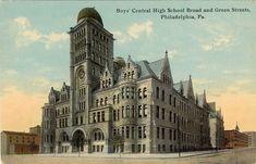 Boys Central High-School, Broad & Green Streets, Philadelphia