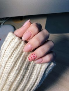 Pink und Herz - Nägel - Nail art - Pink and hearts - nails Pink und Herz - Nägel Soft Nails, Aycrlic Nails, Glitter Nails, Coffin Nails, Cute Acrylic Nails, Cute Nails, Valentine's Day Nail Designs, Nails Design, Valentine Nail Art