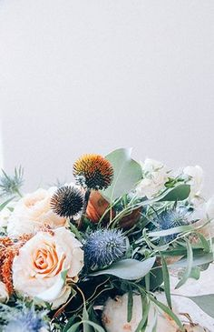 simple, bouquet, flowers, floral, colour, autumn winter