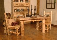 fabulous log cabin decorating ideas - Google Search
