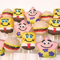 Spongebob Squarepants (Cake Pops)