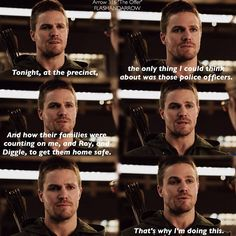 """#Arrow 3x16 """"The Offer"""" - Oliver"""