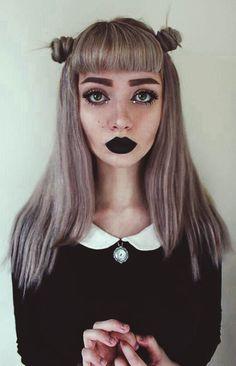Alt. Black, silver, grunge, dirty dark blonde. I like it