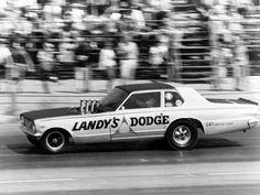 Dick Landy's '64 Dodge Dart, altered wheelbase funny car.