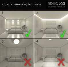 architectural lighting design The correct way of lighting is to produce indirect light. This is the Best demon The correct way of lighting is to produce indirect light. Interior Design Tips, Interior Design Kitchen, Diy Design, Design Design, Interior Lighting, Home Lighting, Lighting Ideas, Low Ceiling Lighting, Interior Design Living Room