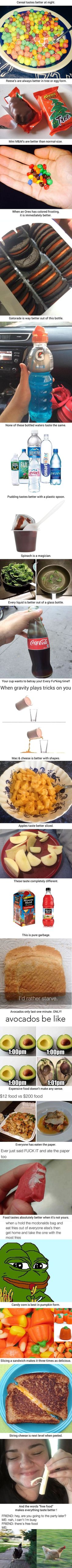 23 Food Facts That Are Undeniably True