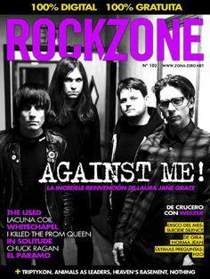RockZone 102 - Abr 2014 - Ya cabros una buena magazine de Rock para leer en esos momentos de placer jajaja