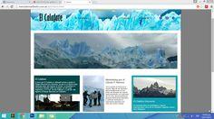 Diseño de página de lugar turístico con Adobe Muse, Diseño Web, ESAV, Bahía Blanca, 2015.