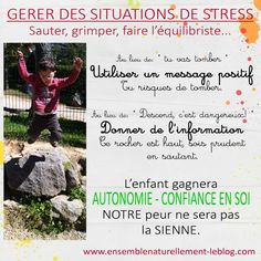 Managing stressful situations Children - Kindness Education Montessori Maternage Tip Evolution Positive Parenting - - Education Positive, Yoga For Kids, Evolution, My Job, Einstein, Communication, Mini, Preschool, Childhood