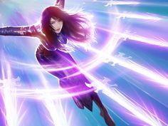 "ArtStation - Mobile Game -Spell nine Skill card ""Pandora"", Hotduck Yoon"