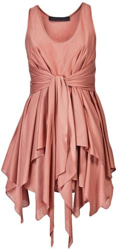 Jen Kao Gleaners Tank Dress