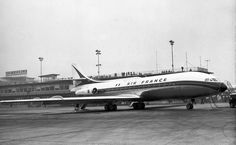 Sud Aviation SE-210 Caravelle F-WHRA prototype Inaugural flight Learn to Fly in New Zealand
