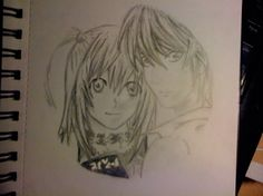 Light and Misa- Death Note