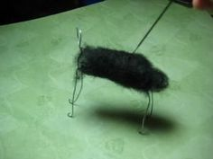 Gourmet Felted - How to Needle Felt an Animal Using a Wire Armature