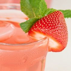 Strawberry Banana Cocktail