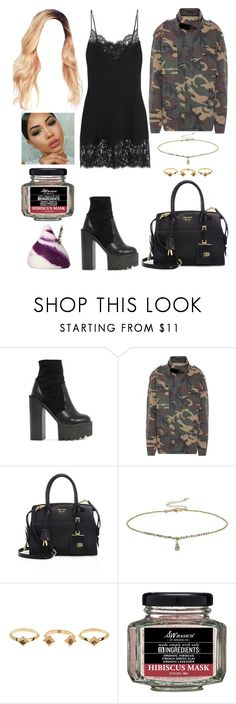 """""""London-LA"""" by allison-syko ❤ liked on Polyvore featuring Givenchy, Public Desire, Yeezy by Kanye West, Prada, Miss Selfridge, House of Harlow 1960, S.W. Basics of Brooklyn and French Kiss"""