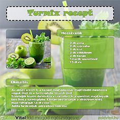 Banános zöldturmix receptje. Minden, Celery, Pickles, Cucumber, Smoothies, Vegetables, Drinks, Food, Smoothie