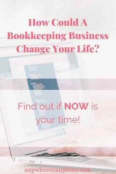 Whether you are looking to make a part-time or full-time income from home, bookkeeping could be the answer! Find out how you can build a profitable bookkeeping business from home, even if you have no experience. #workfromhome