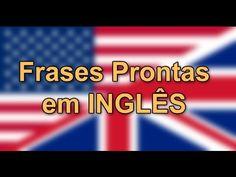 Frases Prontas Em Inglês #1 (Expressando Pensamentos e Sentimentos)