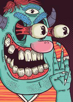 Les illustrations de Alejandro Giraldo ! | HouHouHaHa
