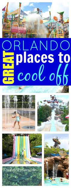 Great Orlando Water Parks, Pools, and Splash Pads to Cool Off | list of great water parks, hotel pools and splash pads in the Orlando, Florida area #LoveFL #ad
