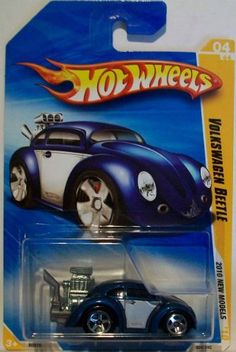 HOT WHEELS 2010 NEW MODELS #04/44 VOLKSWAGEN BEETLE 1:64 Scale by Mattel. $4.99. 2010 NEW MODELS. DIE CAST