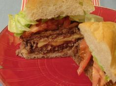 Why not put the cheese on the inside of your thick juicy lucy hamburger? It tastes great!