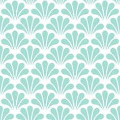 a splash of mint fabric by sef on Spoonflower - custom fabric