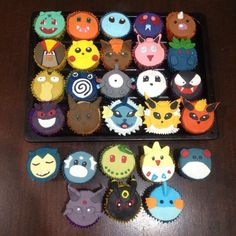 Pokemon's cupcakes