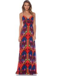 Mara Hoffman Cross Over Slip Gown - Lyst