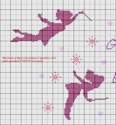 Bébé - baby - fée - point de croix - cross stitch - Blog : http://broderiemimie44.canalblog.com/