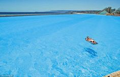 The biggest pool in the world - Chile