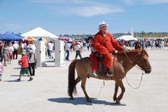 Mongolia, monaco buddista con prole