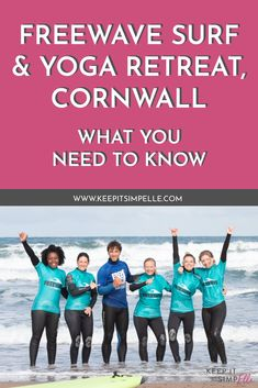 Looking for a luxy surf and yoga retreat? North Cornwall is home to Freewave Surf Academy and their perfectly packaged holidays. Swim Technique, School Timetable, Nature Words, North Cornwall, Passion Planner, Learn To Swim, This Girl Can, Sweat It Out, Bude