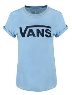 ccb04455b5ea85 Buy Vans Authentic Rock 2 Boyfriend Fit Ladies Blue Bell T-Shirt Ladies T-